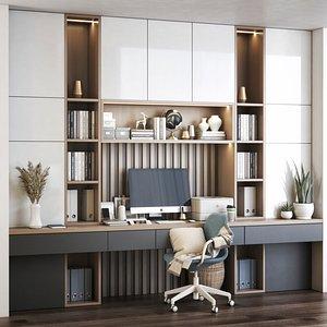 Furniture composition 3 3D model