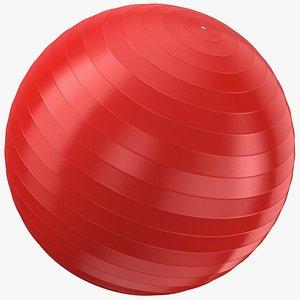 3D Exercise Yoga Ball 02 model