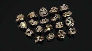 ring gold model