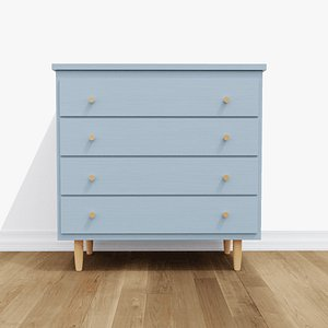 refurbished dresser palmer 4 3D model