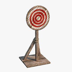 3D target practice model