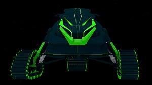 snowmobile 3D