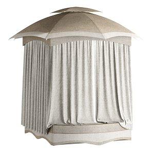 3D Outdoor Camping tent model
