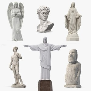 3D stone statues 5