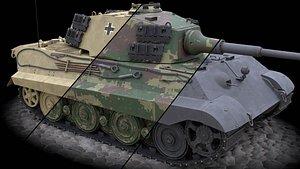 3D Panzerkampfwagen VI Ausf B Tiger II