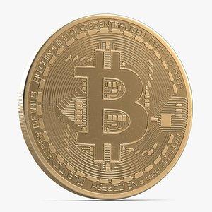 3D Bitcoin 3 model