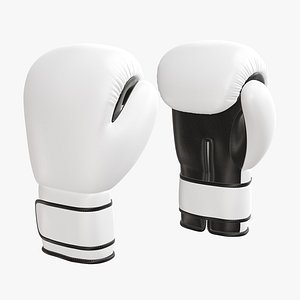 boxing leather glove 3D model