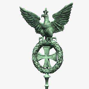 spear eagle architecture 3D model