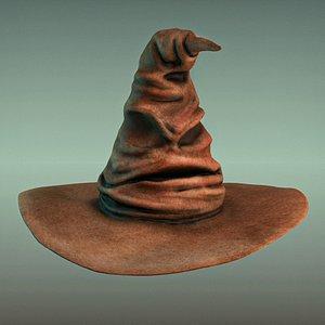 sorting hat harry potter 3D model