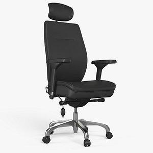 Office Chair 08 - 8K PBR Textures 3D model