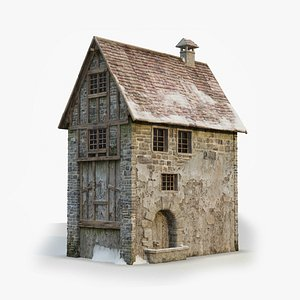 3D Medieval Building 3
