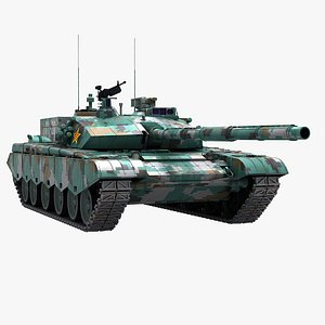 chinese 99 type 3D model
