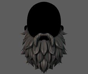 3D Beard V19