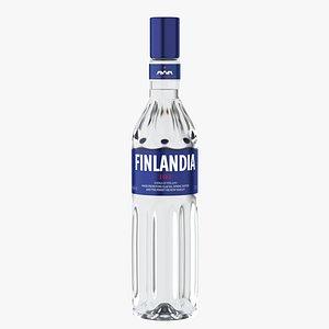 3D finlandia original vodka