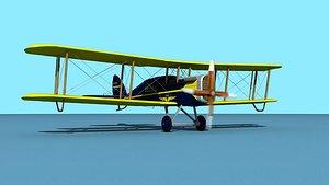 3D model Airco DH-4 Charleston Air
