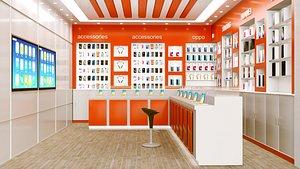 3D model mobile showroom