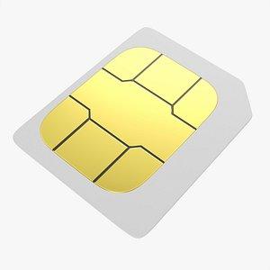 3D card mobile sim