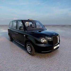 3D LEVC TX Taxi model