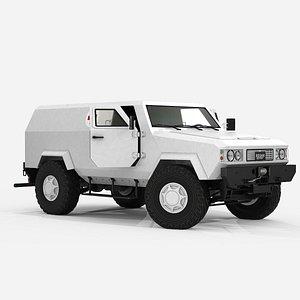 KOZAK  Light armored vehicle ambulance model