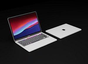 3D apple macbook pro 13