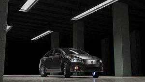 3D suzuki car vehicle model