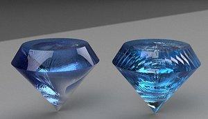 diamond 5 3D model