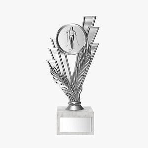 3D award cup model