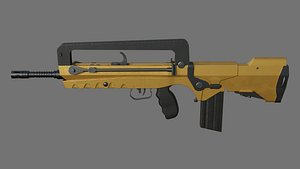 weapon rifle gun 3D