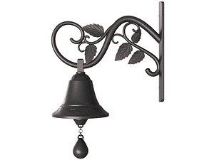 3D model bell iron door