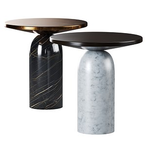 3D Martini Side Tables By CB2 model