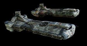 3D star wars rebel command