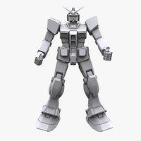 Gundam Mobile Suit MS RX 78