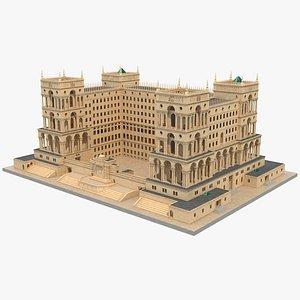 Baroque House 3D