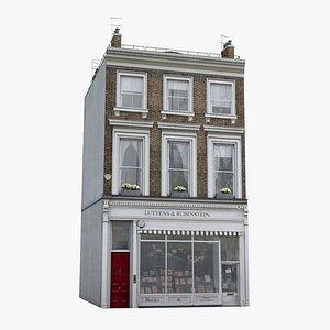 3D London  Townhouse 01
