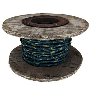 3D model Rope Roll 02