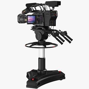 3D real studio camera