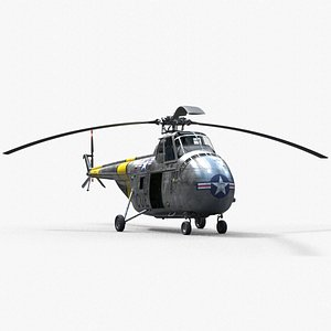 Sikorsky H-19  Chickasaw  PBR 2 3D