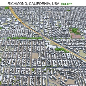 3D Richmond California USA