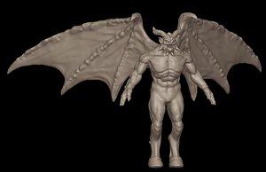 demon highpoly 3D