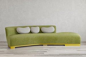 Achille Salvagni Garda Sofa 3D