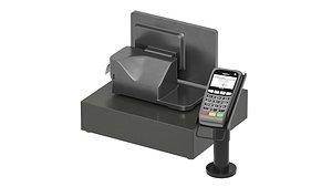 3D payment cash cashbox