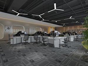 Office Office Office Large Office Office Hall Office Roam Modern Office Manager's Office Card Block model
