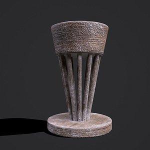 3D Pottery Wheel Design Three model