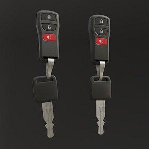 car key 3D model