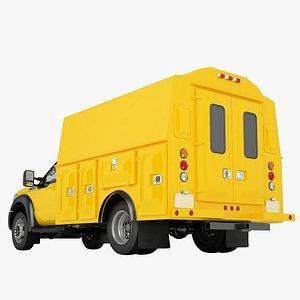 3D Ford F450 2012 Service Truck 02 model