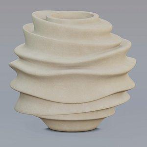 vase designed 3D model