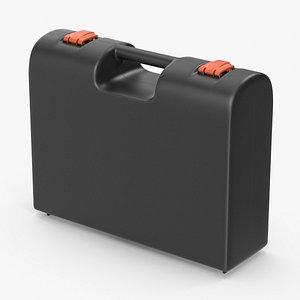 plastic suitcase case model