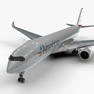 3D a350-900 airlines