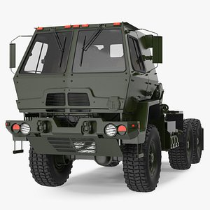 3D Military Tractor