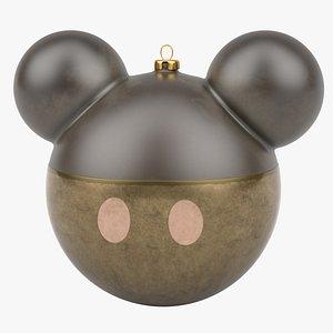 christmas ball mickey mouse 3D model